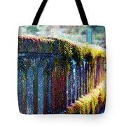 Moss Covered Bridge Tote Bag