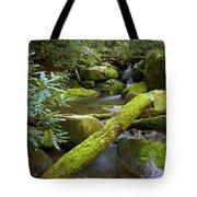 Moss Flourishing Tote Bag