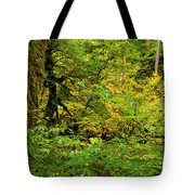 Mossy Rainforest Tote Bag