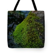 Mossy River Rock Tote Bag