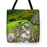 Mossy Rock Garden Tote Bag
