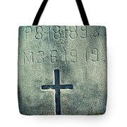 Mossy Tomb Tote Bag