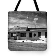 Motel Studios Bw Tote Bag