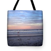 Mother And Daughter Beach Time Tote Bag