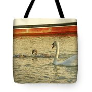 Mother And Two Tote Bag