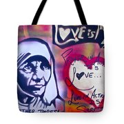 Mother Theresa Service Tote Bag