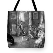 Mother With Migraine Helped By Family Tote Bag