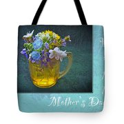 Mother's Day Card - Tiny Wildflower Bouquet Tote Bag