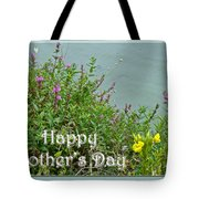 Mother's Day - Wildflowers By The Pond Tote Bag