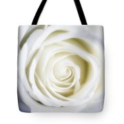 Mother's White Rose Tote Bag