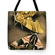 Moths Tote Bag