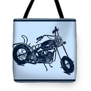 Motorbike 1a Tote Bag