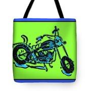 Motorbike 1c Tote Bag