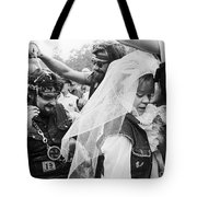Motorcycle Club Wedding Tote Bag by Granger
