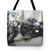 Motorcycle Ride - Three Tote Bag