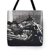 Motorcycle Ride - Two Tote Bag