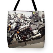 Motorcycle Rides - Five Tote Bag