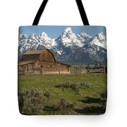 Moulton Barn - Grand Tetons Tote Bag