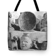 Mound Builders: Pottery Tote Bag
