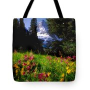 Mount Assiniboine Tote Bag