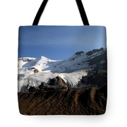 Mount Athabasca From The Columbia Icefields Tote Bag