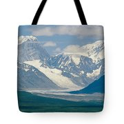 Mount Deborah And Hess Mountain Tote Bag