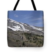 Mount Hood Pano Tote Bag