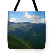Mount Lafayette From Top Of Cannon Mountain Tote Bag