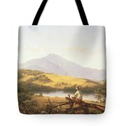 Mount Mansfield Tote Bag