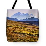 Mount Mckinley, Denali National Park Tote Bag