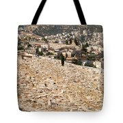 Mount Of Olives Tote Bag