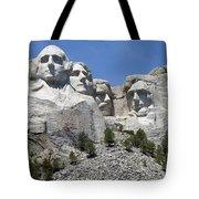 Mount Rushmore Vertical Tote Bag
