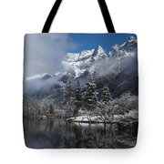 Mount Siguniang Is An Area Tote Bag