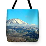 Mount St Helens And Castle Lake Tote Bag