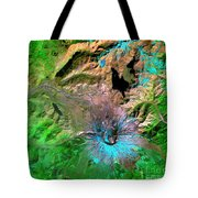 Mount St. Helens Tote Bag