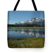 Mount Tallac View Of The Cross Tote Bag