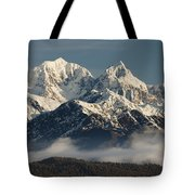 Mount Tasman And Mount Cook Southern Tote Bag by Colin Monteath