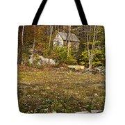 Mountain Cabin Tote Bag by John Greim