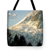 Mountain Christmas 2 Austria Europe Tote Bag