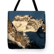Mountain Christmas Austria Europe Tote Bag