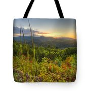 Mountain Evening Tote Bag