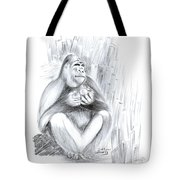 Mountain Gorilla 02 Tote Bag