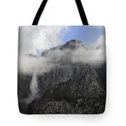 Mountain In The Clouds Tote Bag