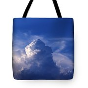 Mountain In The Sky Tote Bag