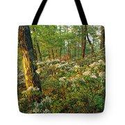 Mountain Laurel Blooming In A Hyner Tote Bag