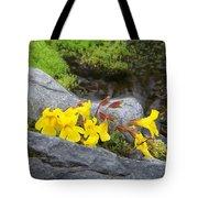 Mountain Monkey Flower Tote Bag