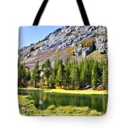 Mountain Pond Tote Bag