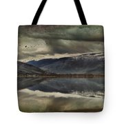 Mountain Reflections Tote Bag