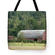 Mountain Side Farm Tote Bag