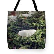 Mountain Snow Tote Bag